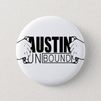 Austin Unbound Logo 6 Cm Round Badge
