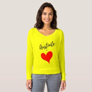 Austinite at Heart Shirt Blouse Austin Love