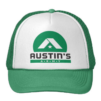 Austin's Army Green Trucker Hat
