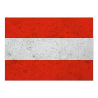 Austra Grunge Flag Custom Invite
