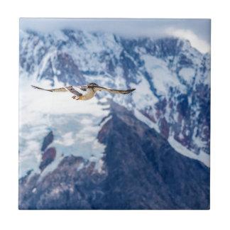 Austral Patagonian Bird Flying Tile