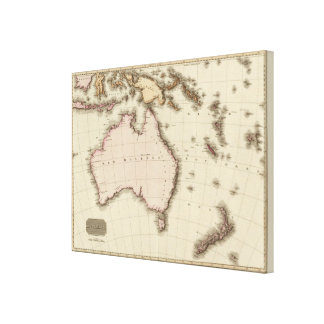 Australasia Gallery Wrap Canvas