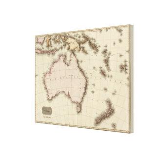 Australasia Gallery Wrap Canvas