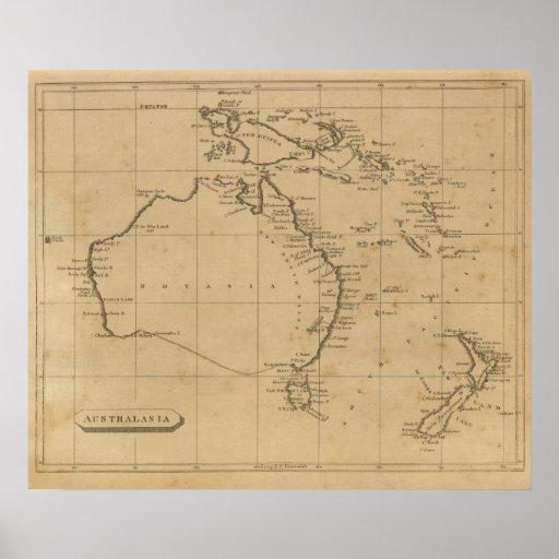 Australasia Posters