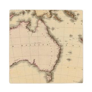 Australasia Wood Coaster
