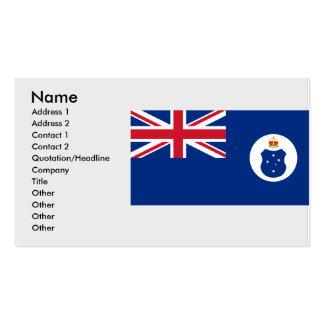 Australasian team Australia Business Cards