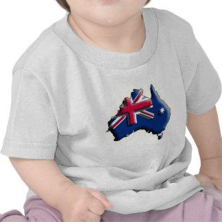 Australia (3d) t shirts