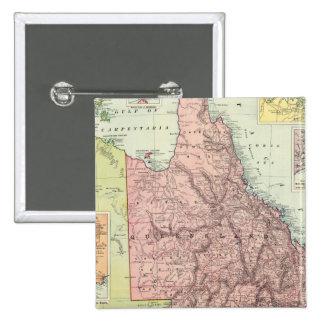 Australia 8 15 cm square badge