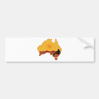 Australia Aboriginal Bumper Sticker
