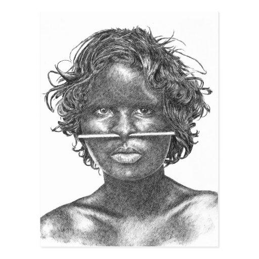 Australia Aboriginal Post Cards