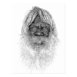 Australia Aboriginal Post Card