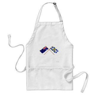 Australia and Lord Howe Island Crossed Flags Aprons