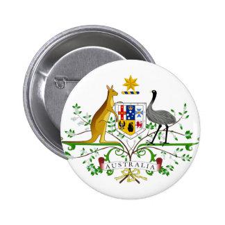 Australia AU 6 Cm Round Badge