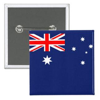 Australia Aussie Australian flag 15 Cm Square Badge