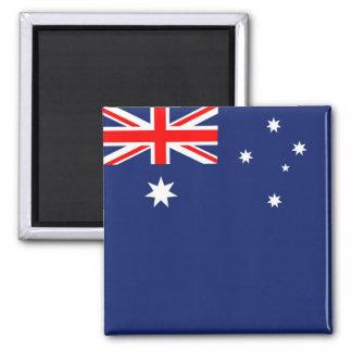 Australia Aussie Australian flag Square Magnet