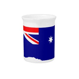 Australia Australia Day Borders Collection Country Pitcher