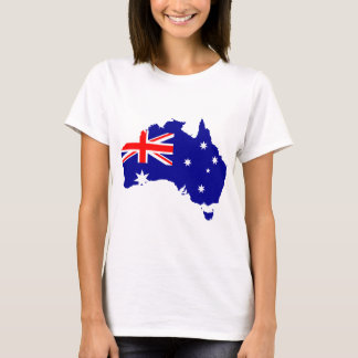 Australia Australia Day Borders Collection Country T-Shirt