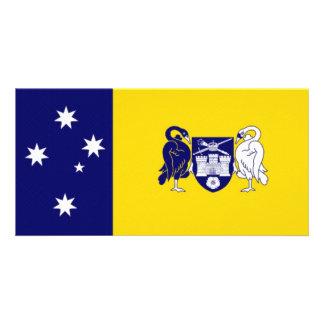 Australia_Australian Capital Territory Flag Photo Card Template