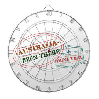 Australia Been There Done That Dartboard