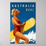 Australia – BOAC Poster