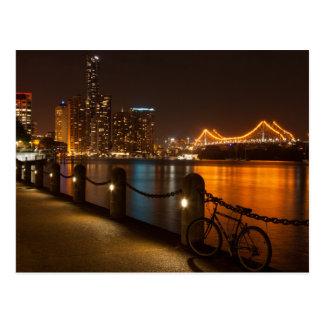 Australia - Brisbane - Story Bridge Edward Street Postcard