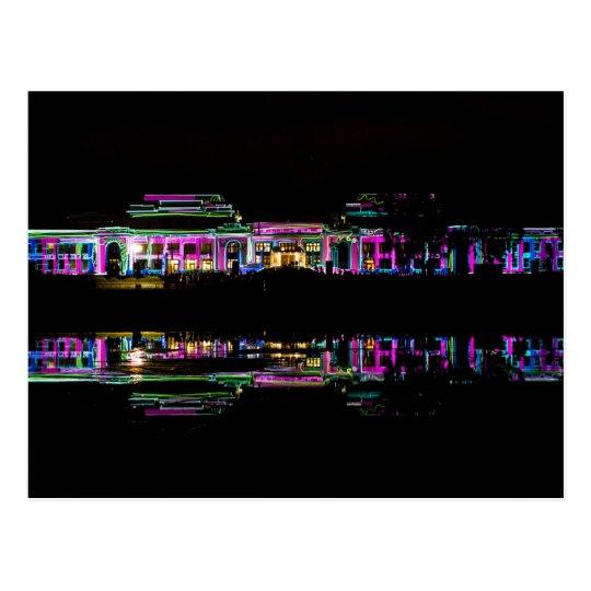 Australia - Canberra Parliament House projections Postcard