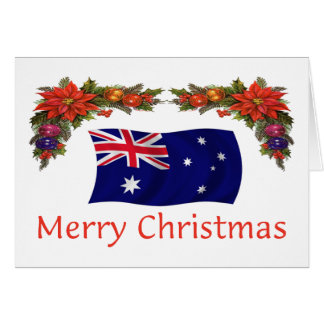 Australia Christmas Card