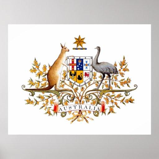 Australia COA Posters