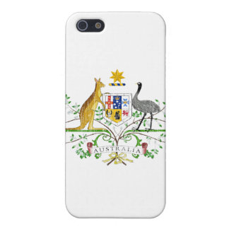 Australia Coat Of Arms Cover For iPhone 5/5S