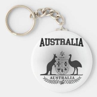 Australia Coat of Arms Key Ring