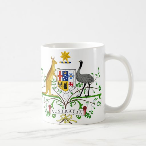 Australia Coat of Arms Mug