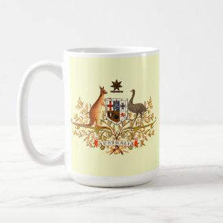australia coat of arms mugs