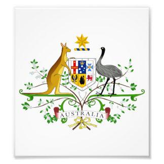 Australia Coat Of Arms Photographic Print