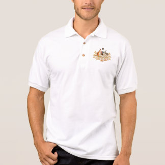 australia coat of arms polo shirt
