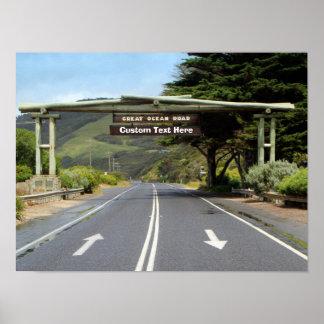 Australia Customizable Great Ocean Road Posters