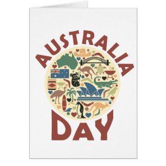 Australia Day- Appreciation Day Card