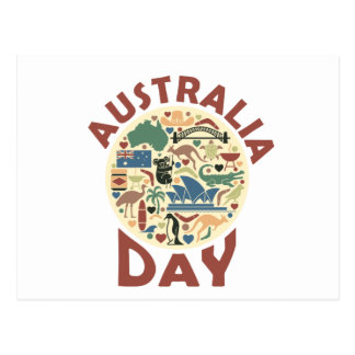 Australia Day- Appreciation Day Postcard