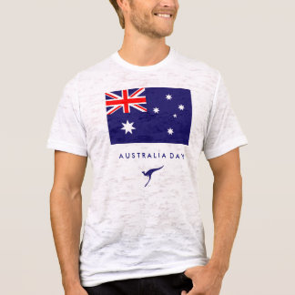Australia Day Flag Tshirt