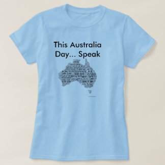 Australia Day - Indigenous Languages T-Shirt