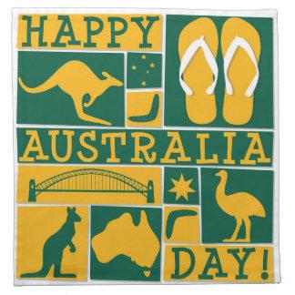 Australia Day Napkin