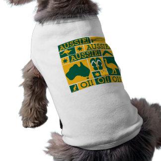 Australia Day Sleeveless Dog Shirt
