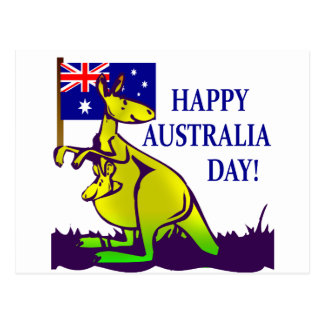 AUSTRALIA DAY T-Shirts and Gifts Post Card
