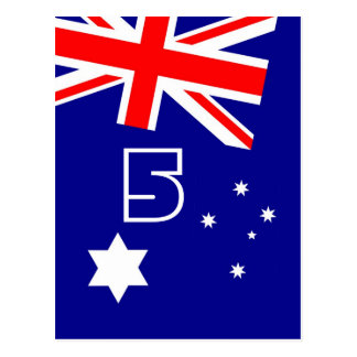 Australia Day Table Number Postcards