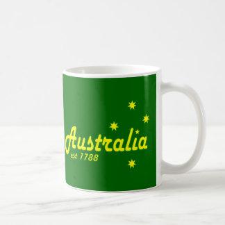 Australia Est 1788 Coffee Mugs