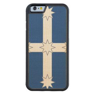 Australia Eureka Flag Carved® Maple iPhone 6 Bumper