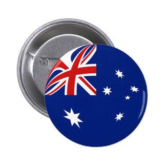 Australia Fisheye Flag Button