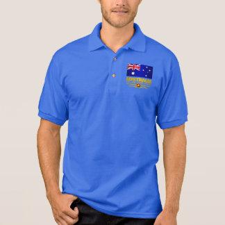 Australia Flag 3 Polo T-shirts