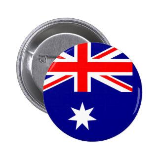 Australia Flag 6 Cm Round Badge
