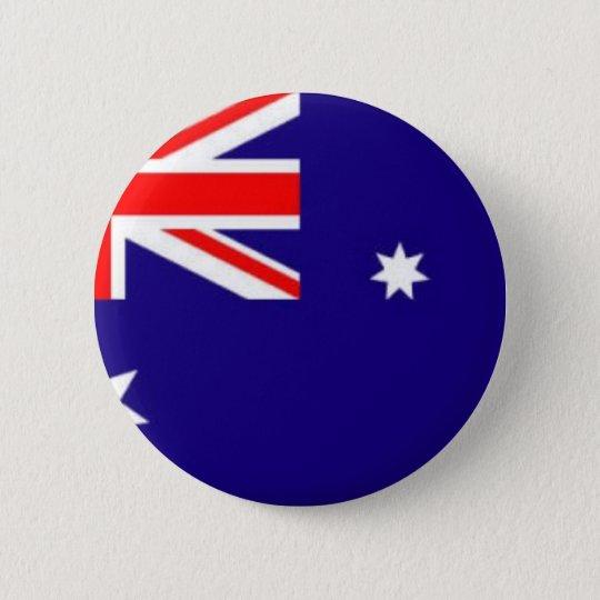 australia-flag 6 cm round badge