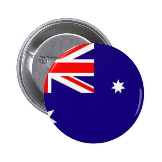 australia-flag 6 cm round badge